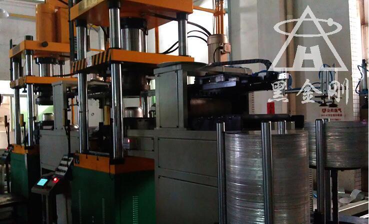 惠州某数控五金配件冲压黑金刚双张检测器合作案例