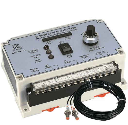 SP-II印铁裁剪涂布双张片料重叠检测控制仪器